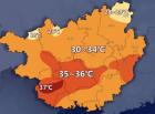 """未来3天,南宁将迎35℃高温天气依旧是""""蒸煮模式""""!"""