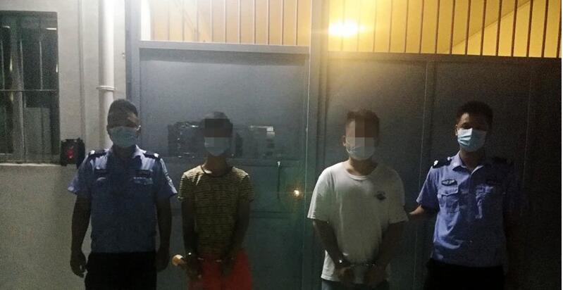钦州两名男子同年出生,同月肇事,还同日被拘!